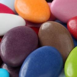 Dragées chocolat forme amande